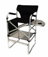 Directors Folding Chair Natural Gear Director U0027s Folding Camp Chair With Side Table