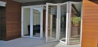 Vinyl Doors Exterior Beautiful Exterior Pocket Doors On Exterior Folding Doors By