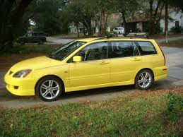 mitsubishi yellow 2004 mitsubishi lancer sportback information and photos