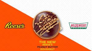 krispy kreme s reese s peanut butter doughnut has finally come
