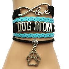 vintage infinity bracelet images Dolon infinity love dog mom bracelet black with blue jpg