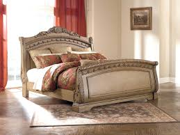 sleigh platform bed frame u2013 bare look