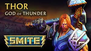 smite god reveal thor god of thunder youtube