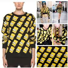 bart sweater bart homer the simpsons sweater products from sylvia