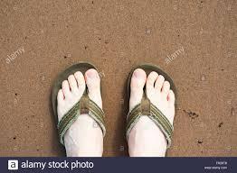 man wearing flip flops stock photos u0026 man wearing flip flops stock