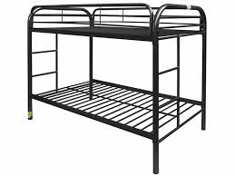 Black Bunk Beds Bunk Bed Metal Unclaimed Freight Co