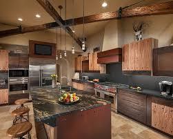 Granite With Cherry Cabinets In Kitchens Cherry Cabinets Black Granite Houzz