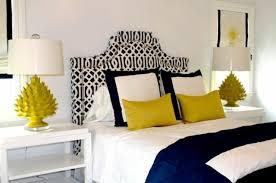 chambre bleu et décoration chambre moderne l alliance originale bleu et jaune
