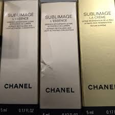 Chanel Essential Comfort Cleanser Chanel Chanel Sublimage Travel Samples Never Opened From