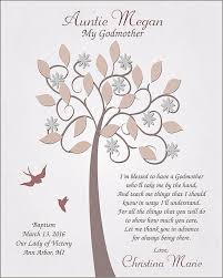 godmother gifts to baby godmother gift gift for godmother from by goldhouseprints on etsy