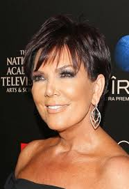 what is kris jenner hair color hairstyles kris jenner short cut with spiky bangs