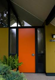 Plain Exterior Doors Impressions Simple Statements Eichler Network