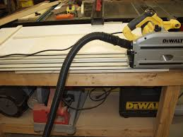 dewalt table saw dust collection dewalt dws520sk vs festool ts55eq long with pictures