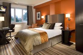 Feature Walls In Bedrooms Latest Colour Combination For Bedroom Makeovers Orange Schemes