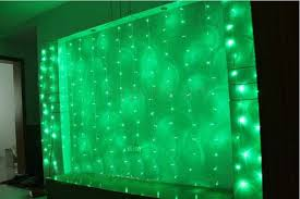 green led string lights bright green led string curtain christmas lights 3 x 1 7m 108 leds