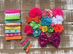 hair bow supplies american cutie headband kit diy headband kit baby headband