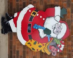 Christmas Cutout Decorations Outdoor Christmas Timber Cutout Displays