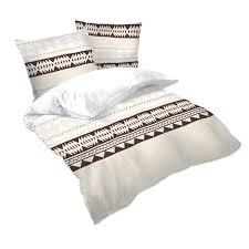 ethno 100 cotton bed linen set duvet cover u0026 pillow cases