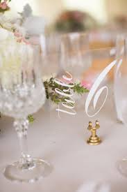 acrylic table numbers wedding wedding signs paper and pine co