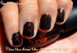 china glaze fortune teller halloween 2009 ladyluck beauty