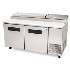 Commercial Prep Table Refrigerated Sandwich Prep Table Ebay