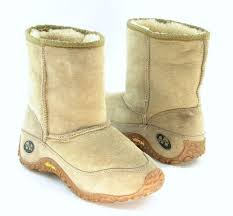 s yeti boots merrell yeti chameleon shearling lined winter boots beige