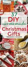 Homemade Holiday Gifts by 37 Diy Homemade Christmas Gifts
