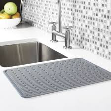 kitchen sink drainer mat