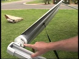 Caravan Retractable Awnings Setting Up A Roll Out Awning U0026 Annex For Jayco Vans Youtube