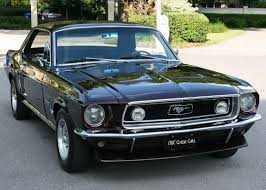 1968 ford mustang black 1968 ford mustang mjc cars pristine cars for