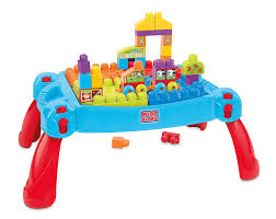 Lego Table Toys R Us Amazon Com Mega Bloks Build U0027n Learn Table Building Set Toys U0026 Games