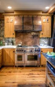 Log Cabin Kitchen Cabinets by Stained Ribbon Sapele Mahogany Kitchen Cabinets Wood Pinterest