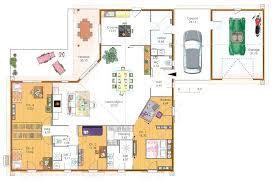 maison 5 chambres plan maison une chambre grande maison 4 chambres avec terrasse