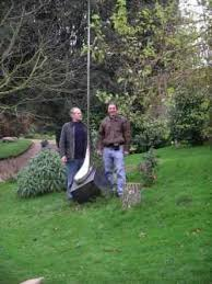 sculpture drop large stainless steel syrop drop yard garden