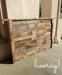 Wood Pallet Headboard Interior Build A Headboard Home Decor Build A Headboard With