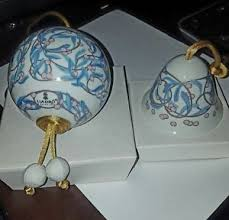 lladro ornament the mistletoe and bell combo ebay