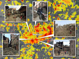 satellite maps 2015 developing earthquake damage maps from satellite imagery gis lounge