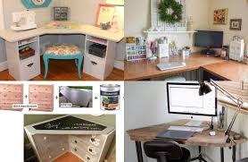 faire un bureau d angle meuble bureau domicile faire soi mme ides et destiné à faire