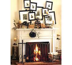 fireplace surround ideas modern cast concrete mantel stuning decor