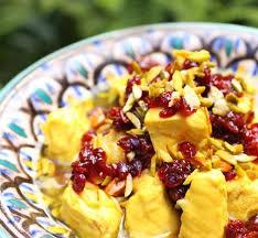 cuisine iranienne recette poulet à l iranienne aux baies d épine vinette 750g