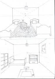 dessiner une chambre en perspective dessin d une chambre en perspective estein design