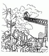 coloring page fireman coloring pages 13