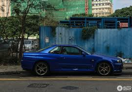 nissan skyline r34 for sale in usa nissan skyline r34 gt r 30 january 2017 autogespot