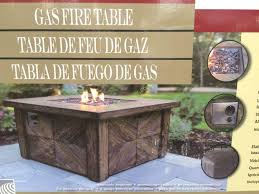 global outdoors fire table global outdoors wine barrel gas fire table costco outdoor designs