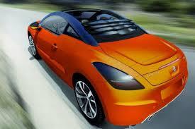 peugeot convertible magna peugeot rcz convertible auto express
