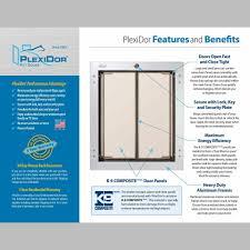 Exterior Dog Doors by Medium Pet Door Wall Unit Products John U0026 Johnston Group Pet