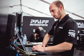 porsche technician pfaff motorsports salvages important points in incident filled