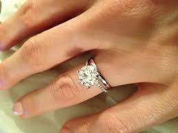 plain engagement ring with diamond wedding band engagement rings give your a engagement diamond