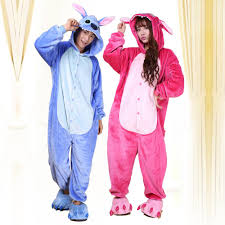 lovely lilo and stitch kigurumi pajamas anime suits cosplay