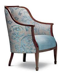 Classic Armchair Walnut Fabric Leather Correggio Ic C